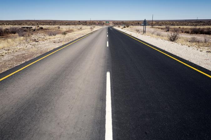 Grégoire De Poorter - grevision - Namibia - road